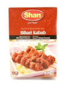 Shan Bihari Kabab BBQ Mix [For Tender Barbeque Meat Strips] | Buy Online at the Asian Cookshop